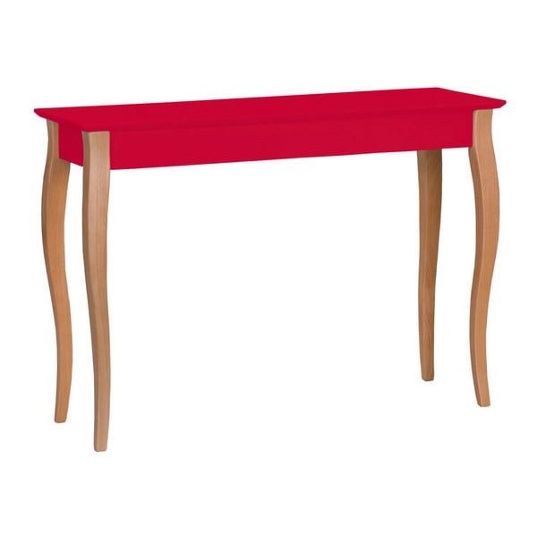 Lillo piros konzolasztal, szélessége 105 cm - Ragaba