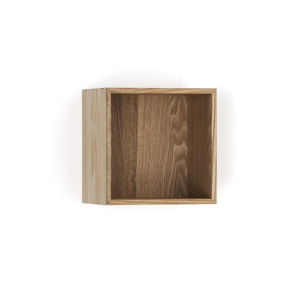 Dřevěná polička Tomasucci Billa, 20 x 15 x 20 cm