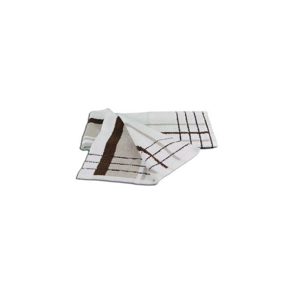 Osuška Berlin Taupe/Chocolate, 70x140 cm