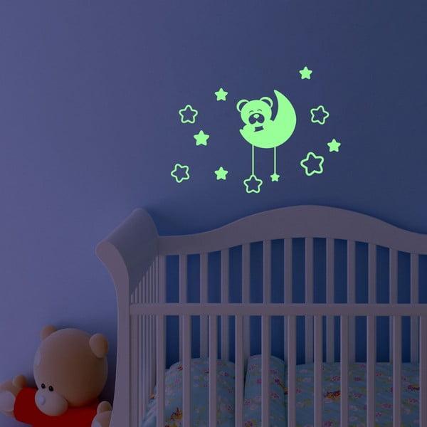 Svítící samolepka Fanastick Teddy Bear