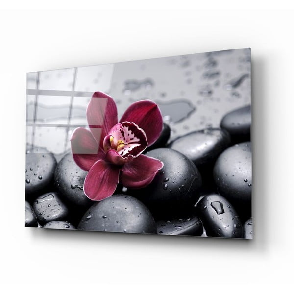 Lily üvegezett kép - Insigne