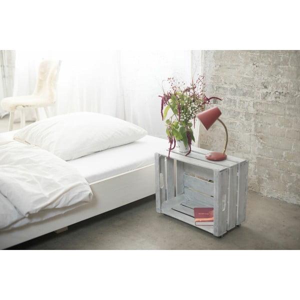 Borovicová postel Swebe, 90x200 cm