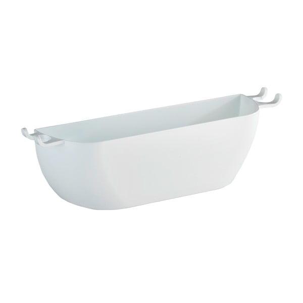 Biely nástenný košík WenkoTurbo-Loc Brasil