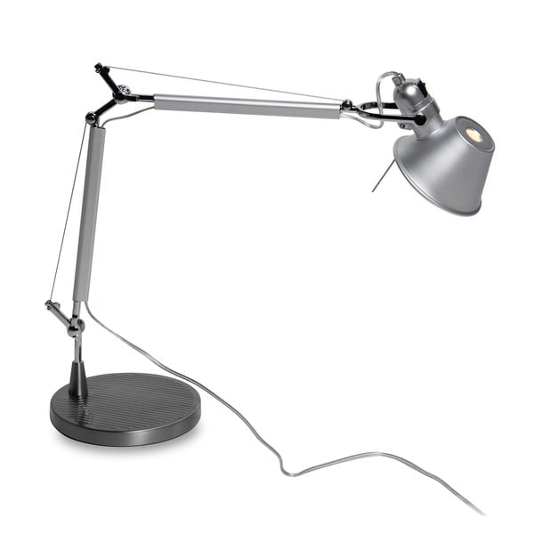 Stolní lampa Arm Aluminio