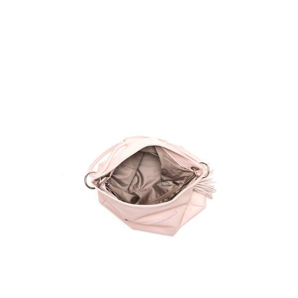 Kožená kabelka Anna Luchini 71 Rosa