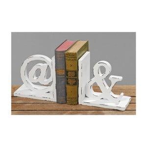 Set zarážek na knihy Sign; 2 ks