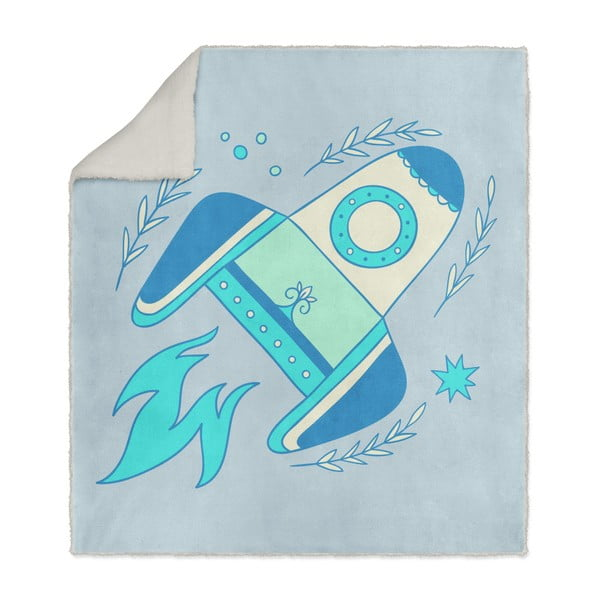 Detská deka OYO Kids Rocket, 130 x 160 cm
