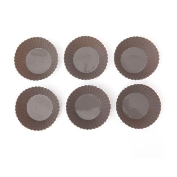 Sada 6 silikonových forem na muffiny Sabichi Cone