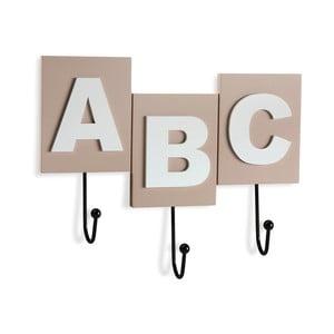 Nástěnný věšák na oblečení Versa ABC