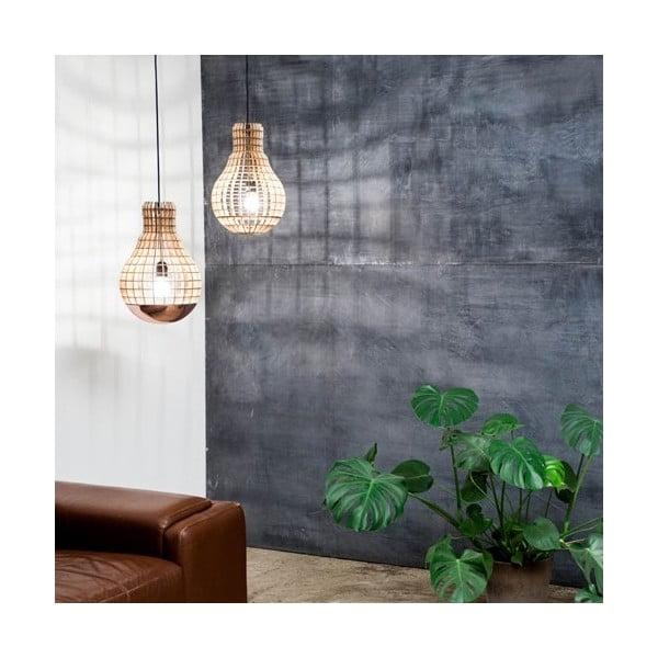 Stínidlo Wooden Bulb Aura