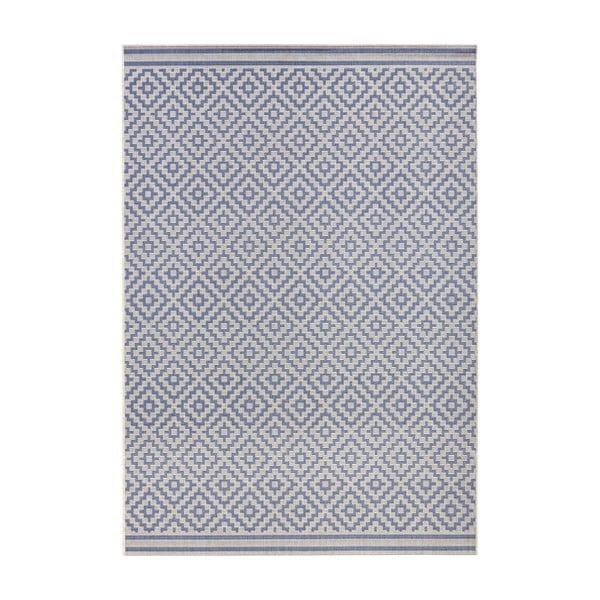 Raute kék kültéri szőnyeg, 140 x 200 cm - Bougari