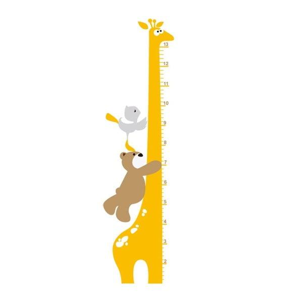 Samolepka na zeď Žirafa