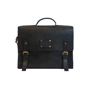 Černá kožená vintage brašna O My Bag Dirty Harry