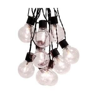 Bílý světelný LED řetěz Best Season Party, 16 světýlek