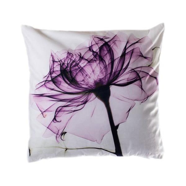Pernă JAHU Purple Tulip, 45 x 45 cm