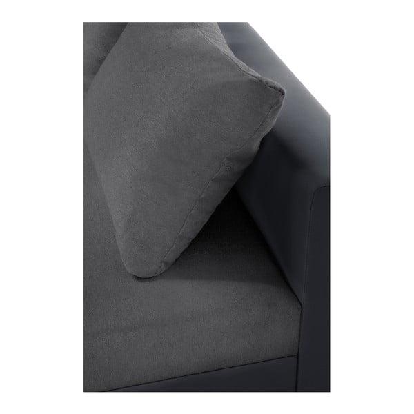 Antracitová sedačka Interieur De Famille Paris Aventure, pravý roh