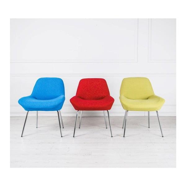 Modrá židle Design Twist Taba