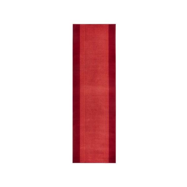 Koberec Basic, 80x500 cm, červený