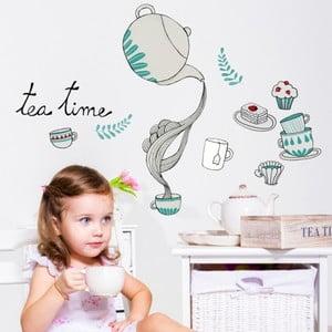 Samolepka Chispum Tea With Cupcake
