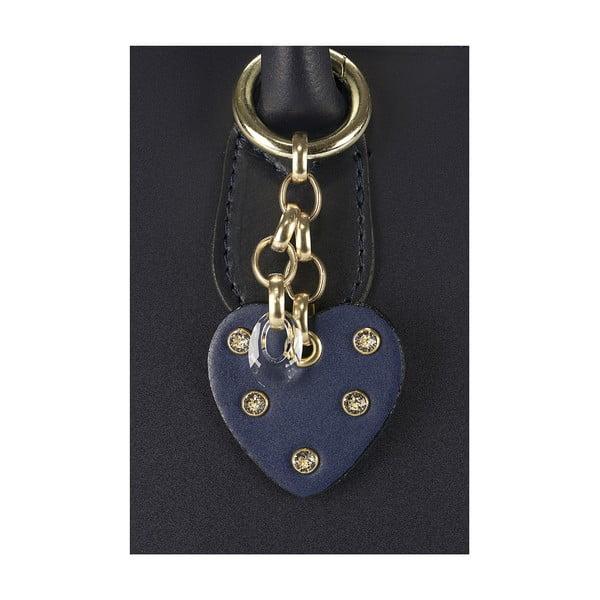 Kožená kabelka Giorgio Costa 15001 Blue