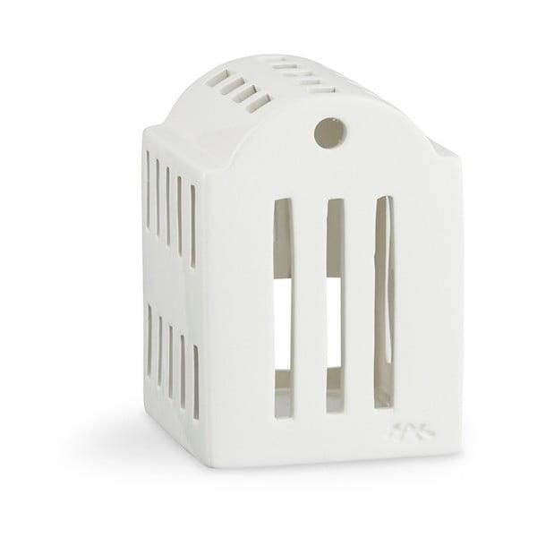 Bílý keramický svícen Kähler Design Urbania Lighthouse Smithy