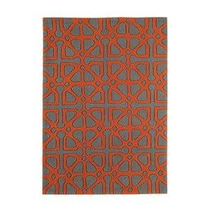 Koberec Harlequin Symbols Orange, 160x230 cm