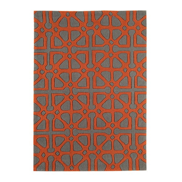 Koberec Harlequin Symbols Orange, 200x300 cm