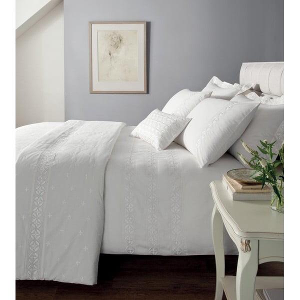 Povlečení Windsor White, 200x200 cm