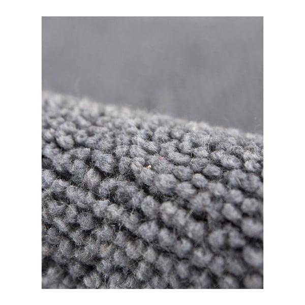 Vlněný koberec Tatoo 110 Gris, 60x120 cm