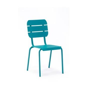 Set 4 scaune de grădină Ezeis Alicante, albastru