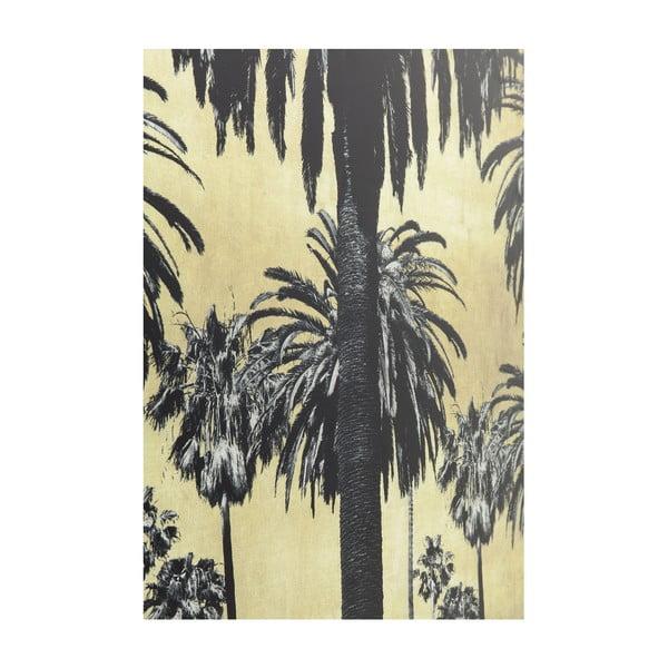 Zasklený obraz Kare Design Palms, 120 x 80 cm