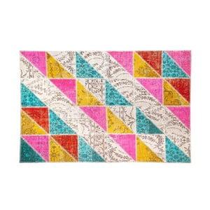 Vlněný koberec Allmode Sivas Multi I, 150x80 cm