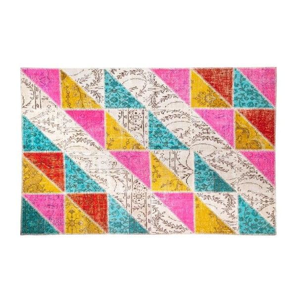 Vlněný koberec Allmode Sivas Multi I, 200x140 cm