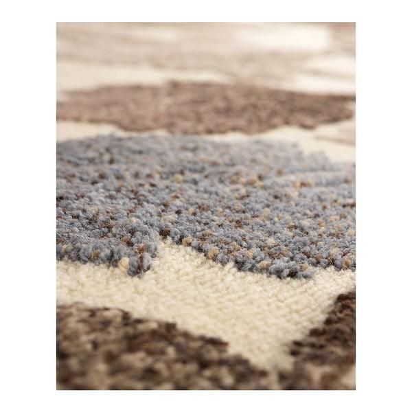 Vlněný koberec Dama 632 Crema, 120x160 cm