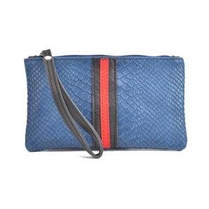 Modré kožené psaníčko Mangotti Bags Studo