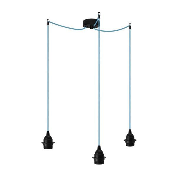 Tři závěsné kabely Uno+, černá/modrá/černá