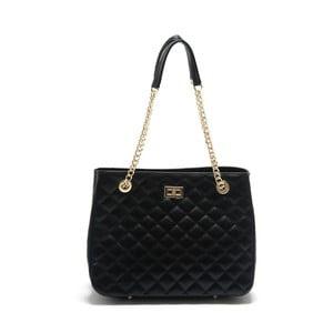 Černá kožená kabelka Isabella Rhea Abelia