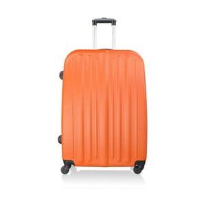 Kufr Luggage Orange, 114 l