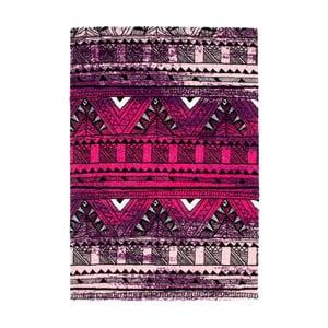 Koberec Aztec 491 purple/fuchsia, 120x170 cm