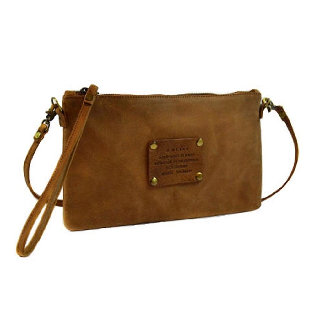 Hnědá kožená kabelka O My Bag The Betsy