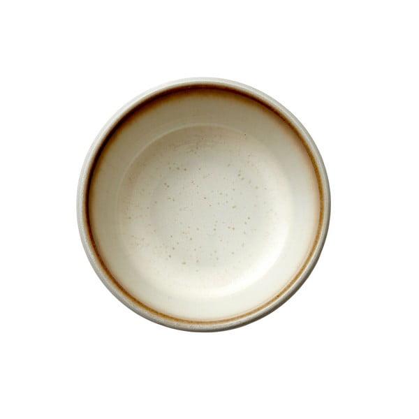 Bol servire din ceramică Bitz Basics, ⌀ 10 cm, crem