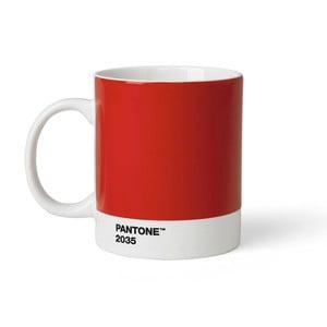 Cană Pantone 2035, 375 ml, roșu