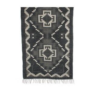 Černobéžový koberec Mica Wiki, 120x170cm
