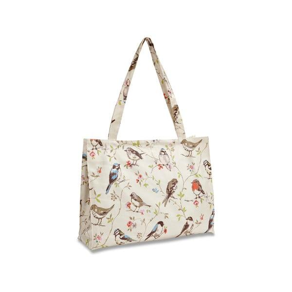 Bawełniana torba na zakupy na ramię Cooksmart England Dawn Chorus, 40x30 cm