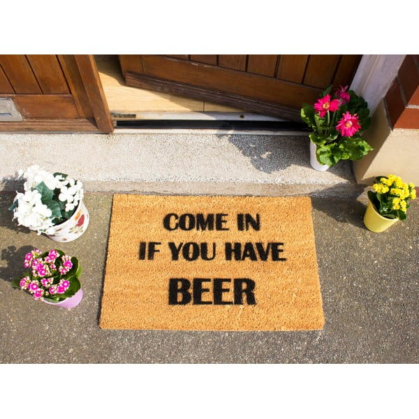 Rohožka Artsy Doormats Come Again and Bring Beer, 40 x 60 cm