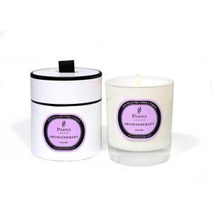 Svíčka s vůní levandule Parks Candles London  Aromatherapy, 45 hodin hoření