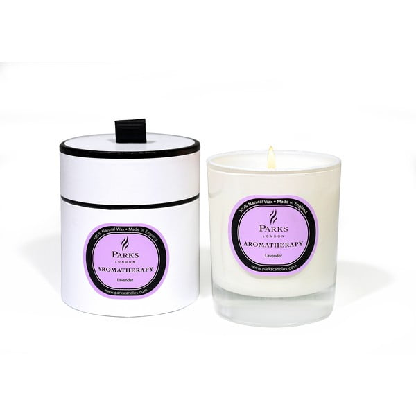 Świeczka o zapachu lawendy Parks Candles London Aromatherapy, 45 h