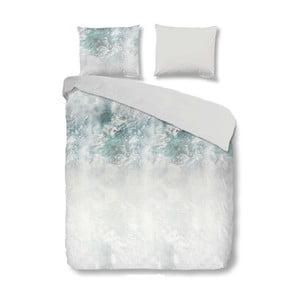 Bílé bavlněné povlečení na jednolůžko Muller Textiels Whitney,140x200cm