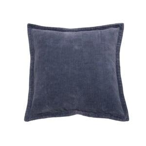 Antracitový polštář Walra Flinn, 45 x 45 cm