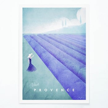 Poster Travelposter Provence, A3 imagine